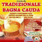 Tradizionale Bagna Cauda a San Paolo il prossimo Sabato 9 novembre 2019